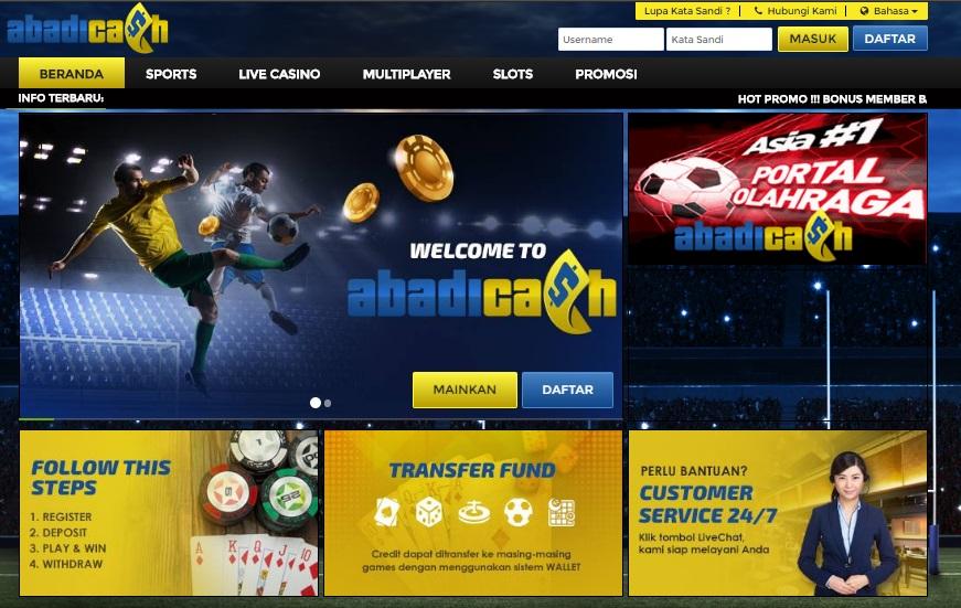 Agen Casino Online Abadicash Yang Sangat Menguntungkan Anda